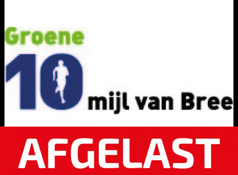 GROENE 10 Mijl van Bree 2020