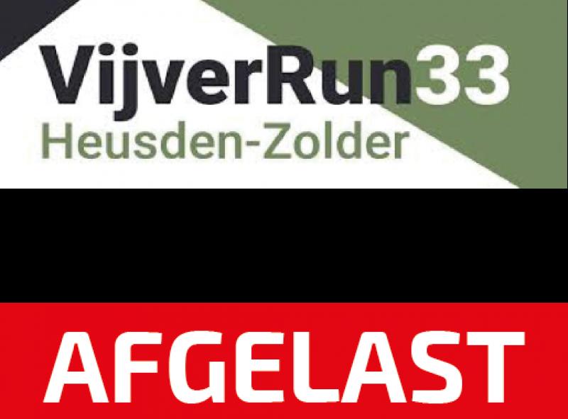 VijverRun33 2020