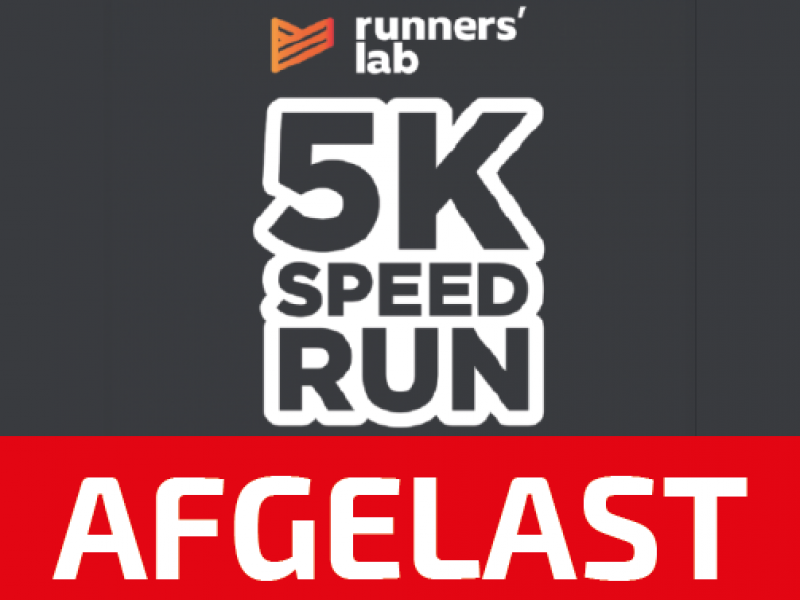 Runners' lab 5K Speedrun